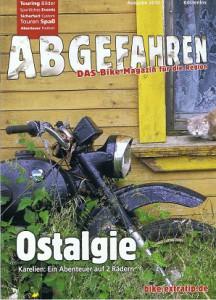 2010_Ausgabe 2010 Abgefahren_Ostalgie Karelien-Ein Abenteuer auf 2 Rädern