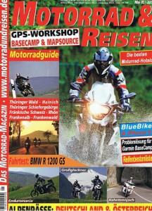 2013-05 Motorrad & Reisen Enduromania