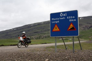 Öxi Schild