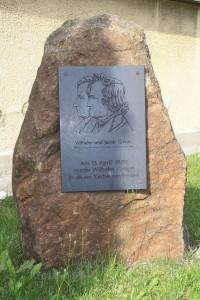 Grimm Gedenkstein