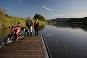 Pause an der Weser