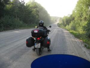 Schotterweg